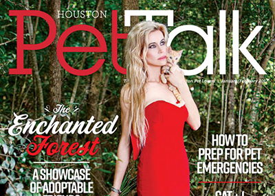 Houston Humane Society HHS Pets Featured in Jan/Feb issue of Houston PetTalk