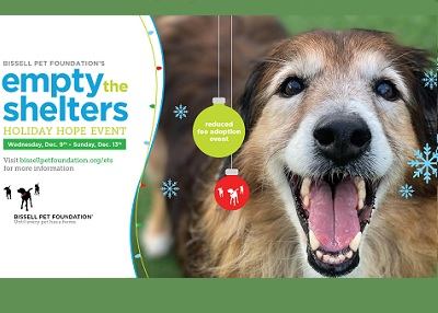 Houston Humane Society - Bissell's Empty the Shelters Holiday Hope Event