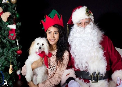 Houston Humane Society - Santa Paws