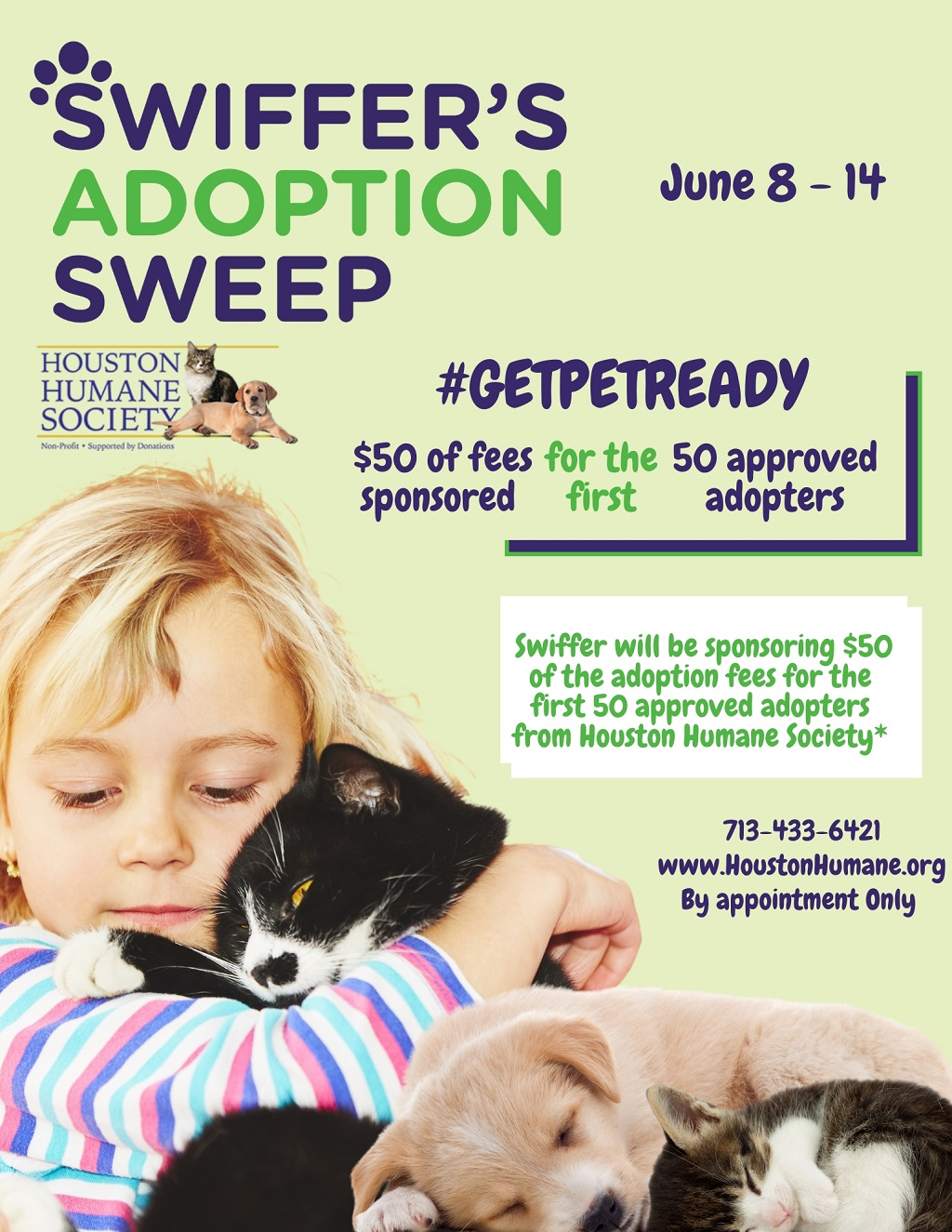 Swiffer Adoption Sweep