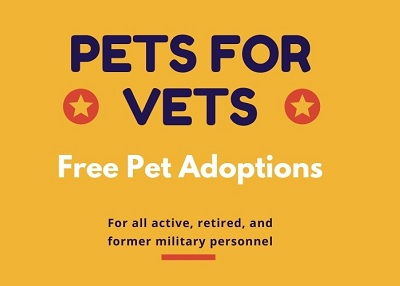 Houston Humane Society - Pets for Vets Adoption Event